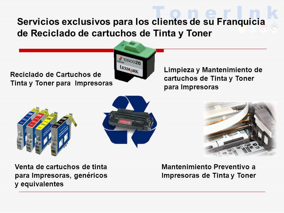 STOCK DE MERCANCIA 1 INVENTARIO INICIAL DE MATERIAS PRIMAS PARA RECARGA DE CARTUCHOS DE TINTA Y TONER 1 INVENTARIO INICIAL DE PRODUCTOS PARA EMPAQUE DE CARTUCHOS DE TINTA Y TONER (CAJAS, BOLSAS ETC.) 1 ANUNCIO PUBLICITARIO DE VINIL 1 PAQUETE DE 500 VOLANTES PARA CAMPAÑA DE PUBLICIDAD INICIAL 1 MANTA DE AVISO DE APERTURA.