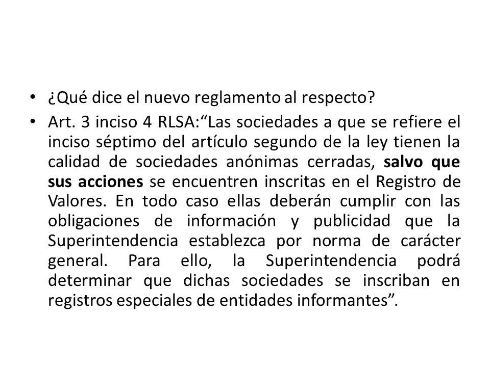Relevancia: Obligación o no, de acatar reglas imperativas de LSA aplicables sólo a SA abiertas, debiendo adaptar los estatutos.