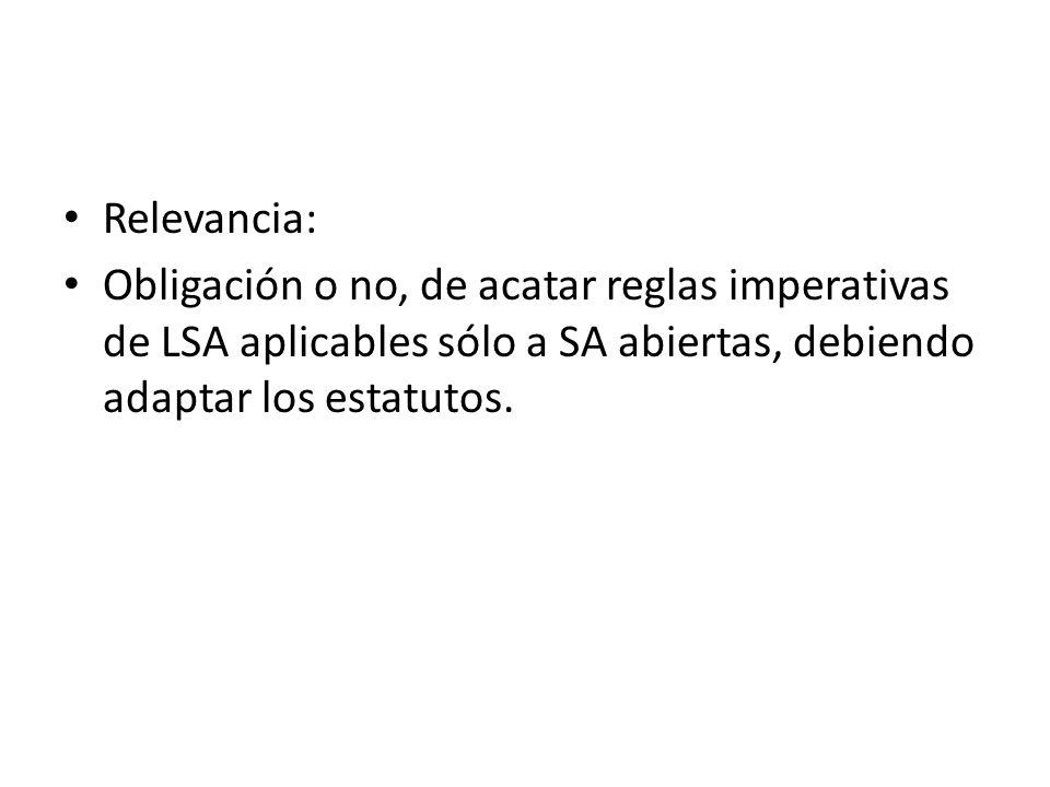 2.Pactos restrictivos de la libre cesibilidad de acciones Art.