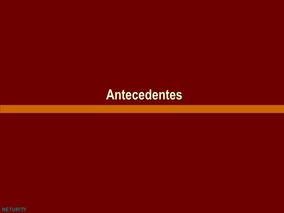 NETURITY Antecedentes
