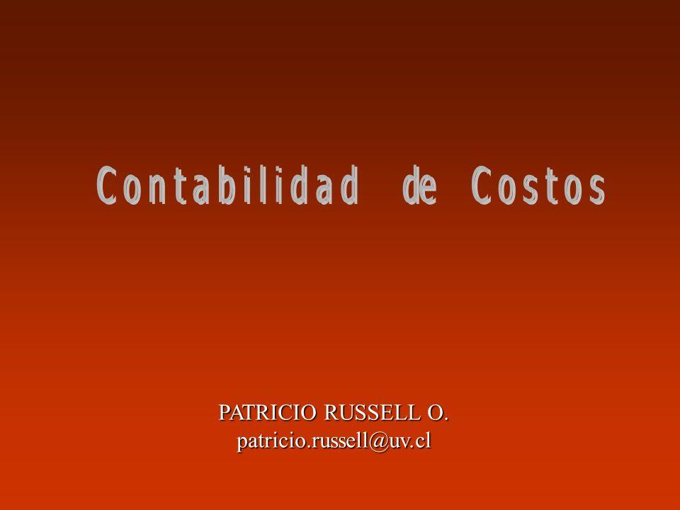 f.- Estado de Costos y de Resultados Estado de Costos Estado de Resultados