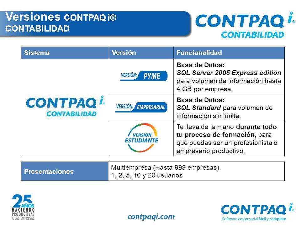 ¿Qué es CONTPAQ i® CONTABILIDAD.