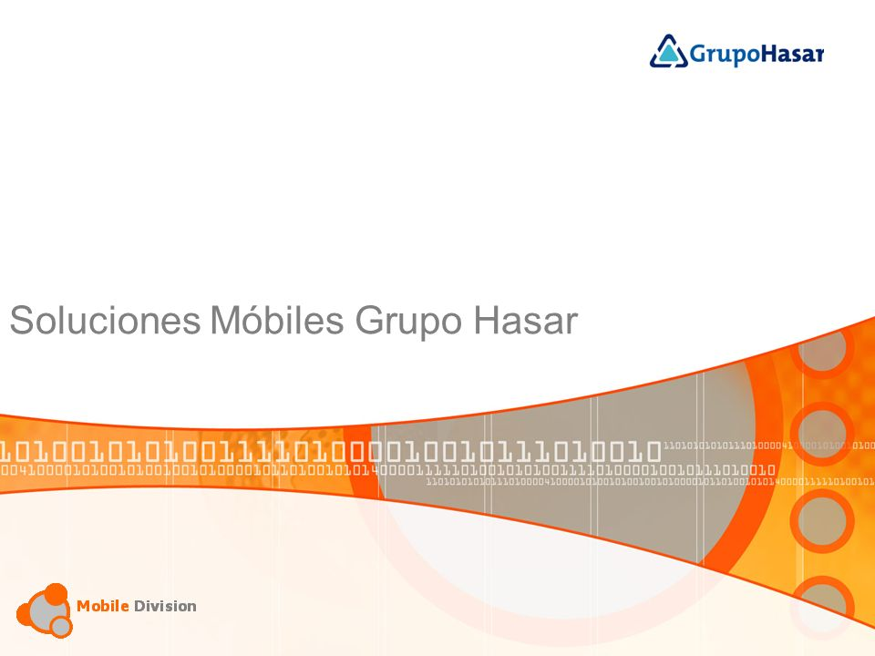 Soluciones Grupo Hasar Mobile Computing.Sales force automation.