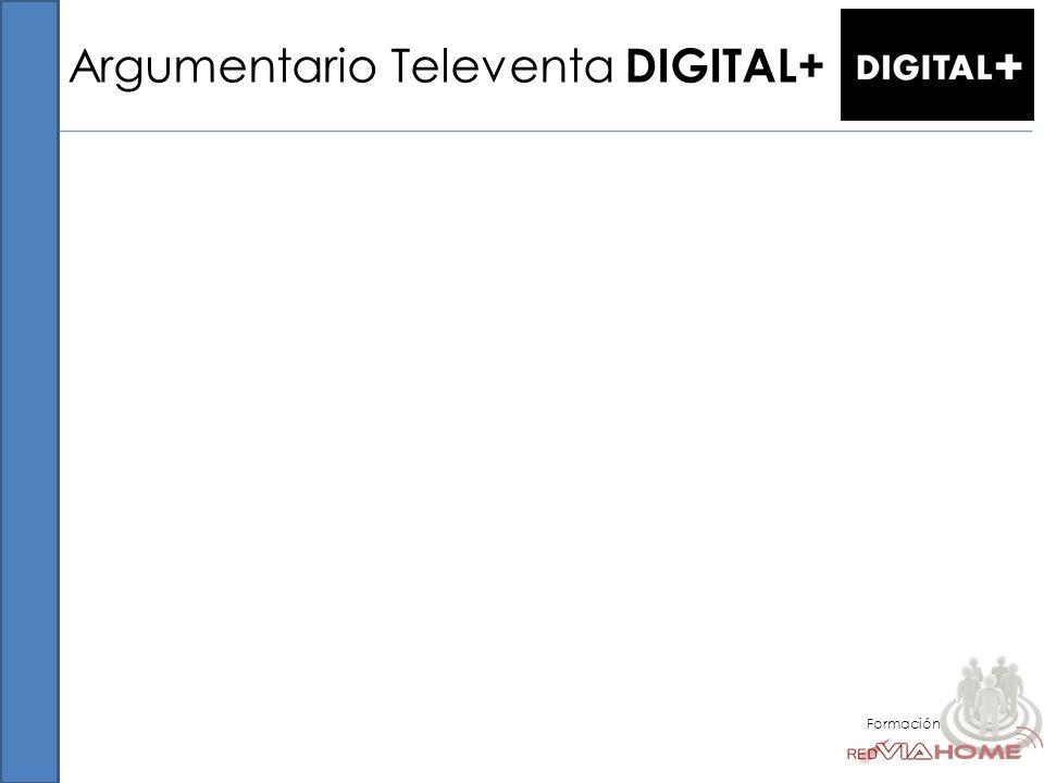 Argumentario Televenta DIGITAL+ Formación