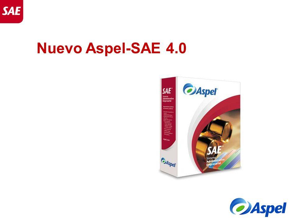 Nuevo Aspel-SAE 4.0