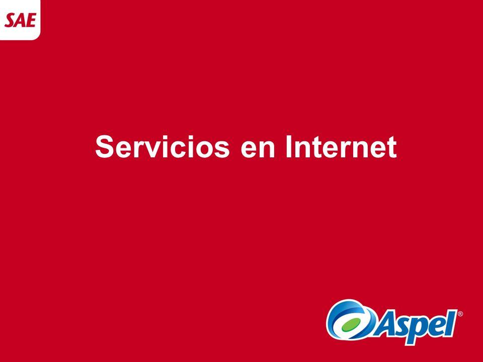 Servicios en Internet