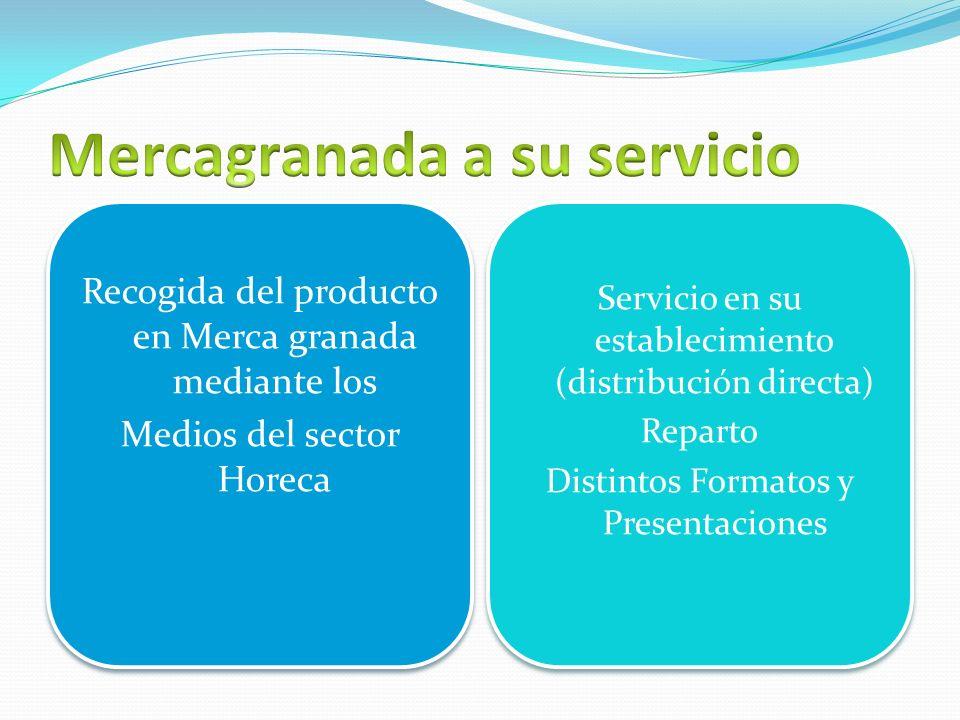 Recogida del producto en Merca granada mediante los Medios del sector Horeca Recogida del producto en Merca granada mediante los Medios del sector Hor