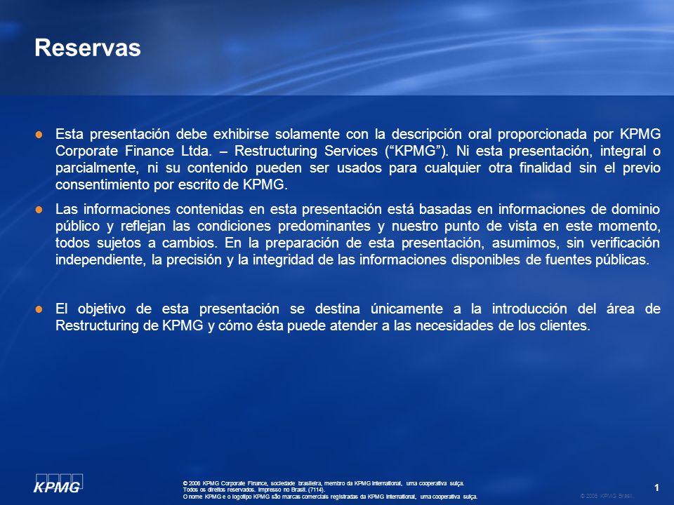 2 © 2006 KPMG Brasil.