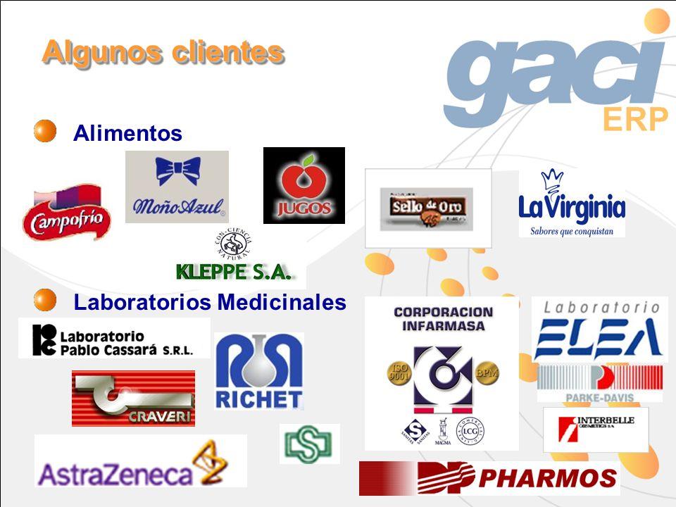 Alimentos Laboratorios Medicinales Algunos clientes