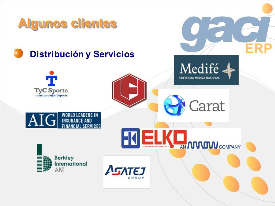 Distribución y Servicios Algunos clientes