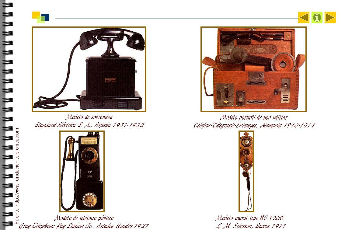 Modelo de sobremesa Standard Eléctrica S.