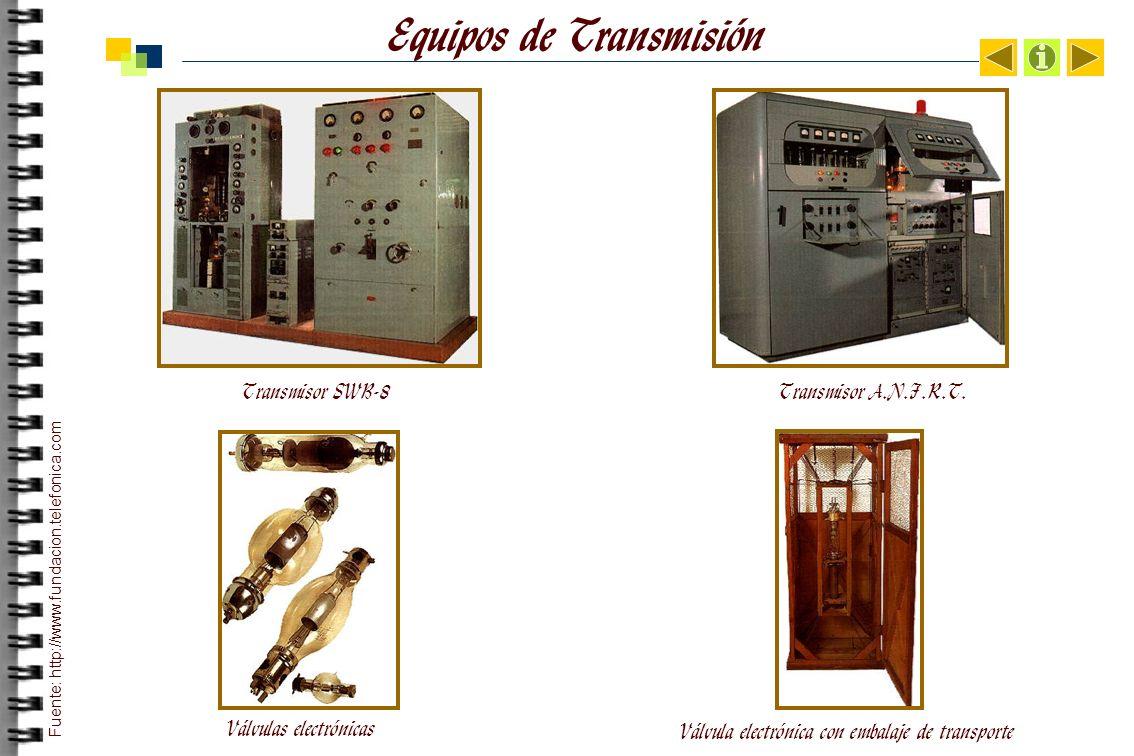 Equipos de Transmisión Transmisor SWB-8Transmisor A.N.F.R.T.