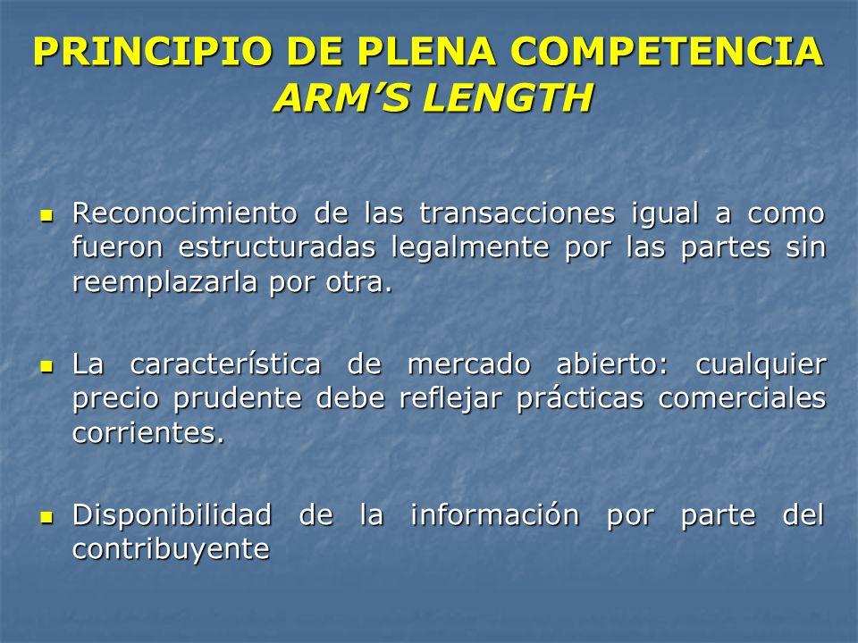Reconocimiento de las transacciones igual a como fueron estructuradas legalmente por las partes sin reemplazarla por otra. Reconocimiento de las trans