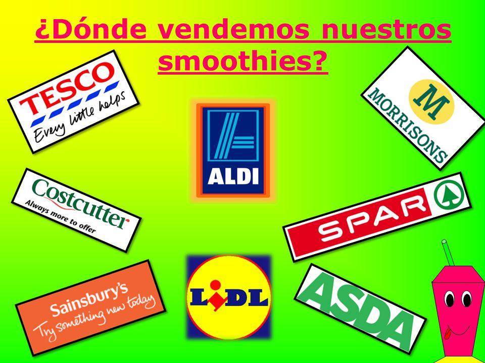 ¿Dónde vendemos nuestros smoothies?