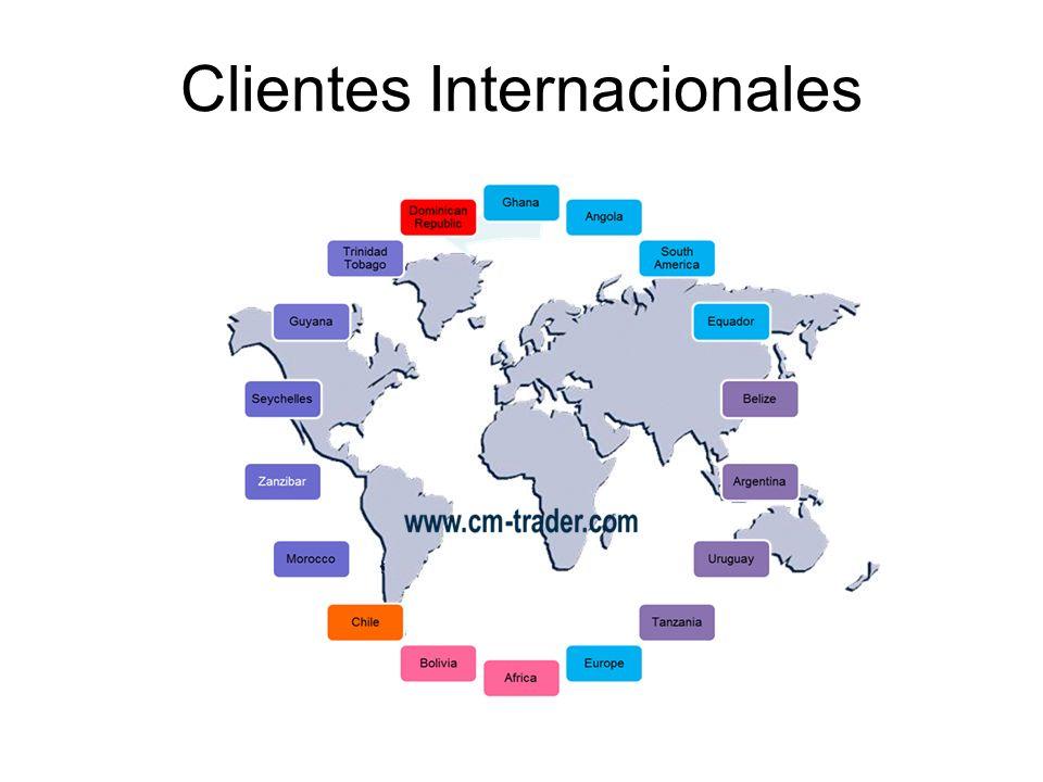 Clientes Internacionales