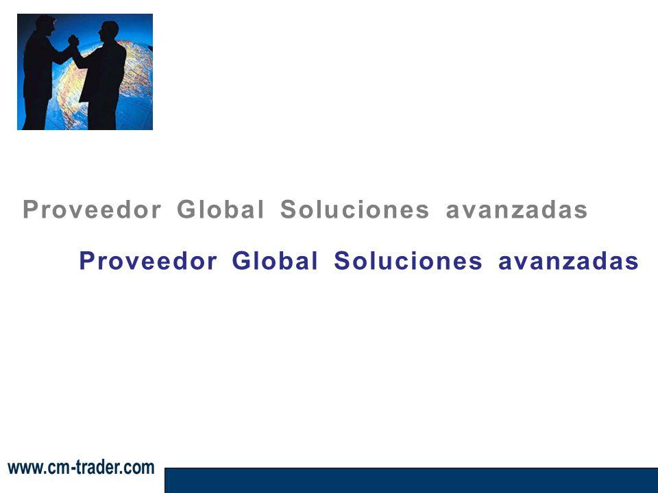 Proveedor Global Soluciones avanzadas