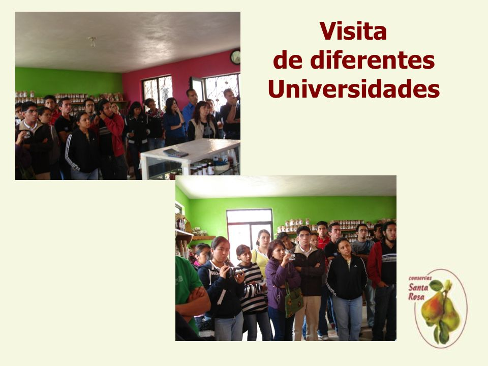 Visita de diferentes Universidades