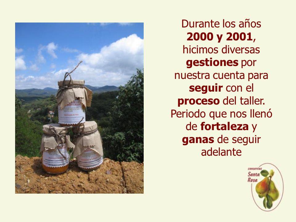 Durante los años 2000 y 2001, hicimos diversas gestiones por nuestra cuenta para seguir con el proceso del taller.