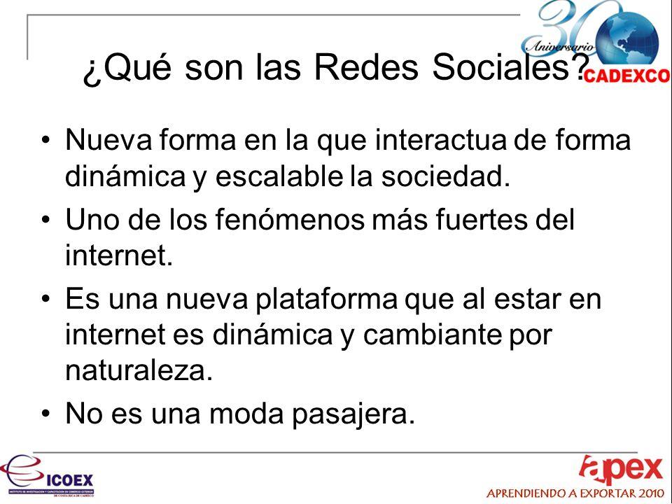 ¿Qué son las Redes Sociales.