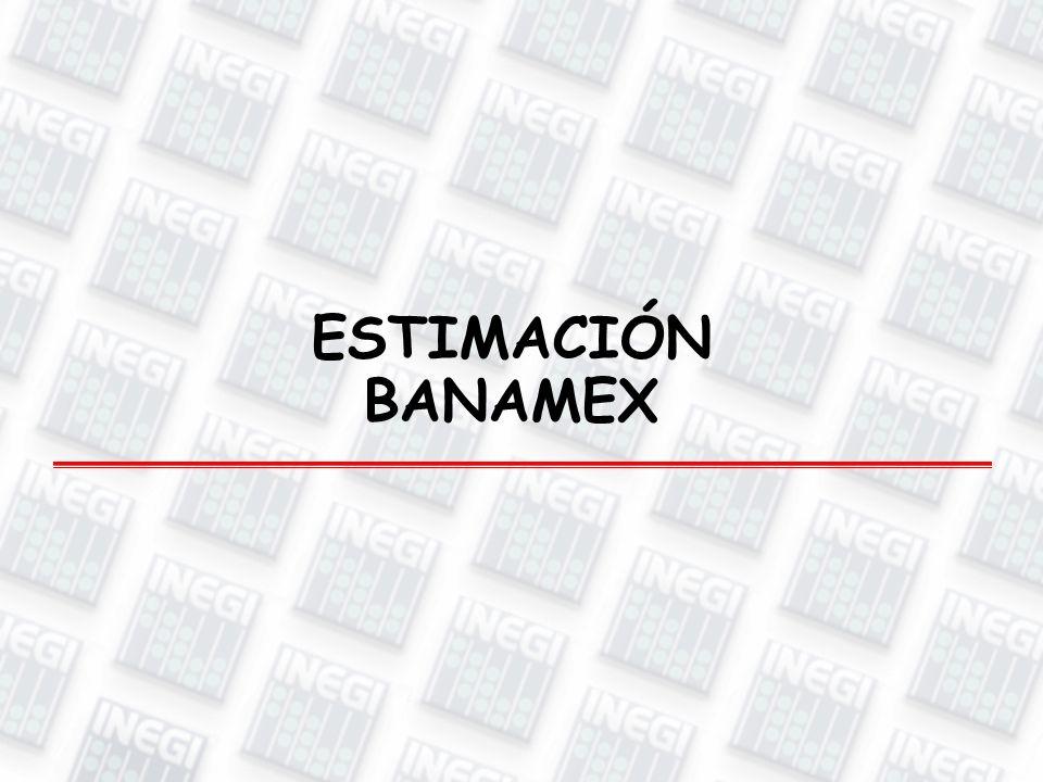 ESTIMACIÓN BANAMEX