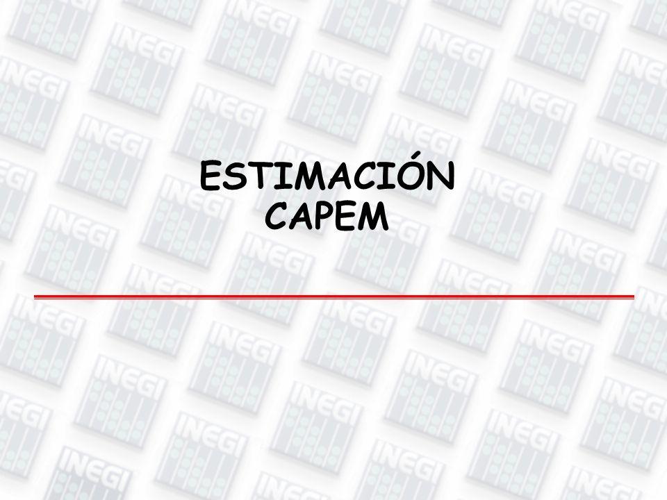 ESTIMACIÓN CAPEM
