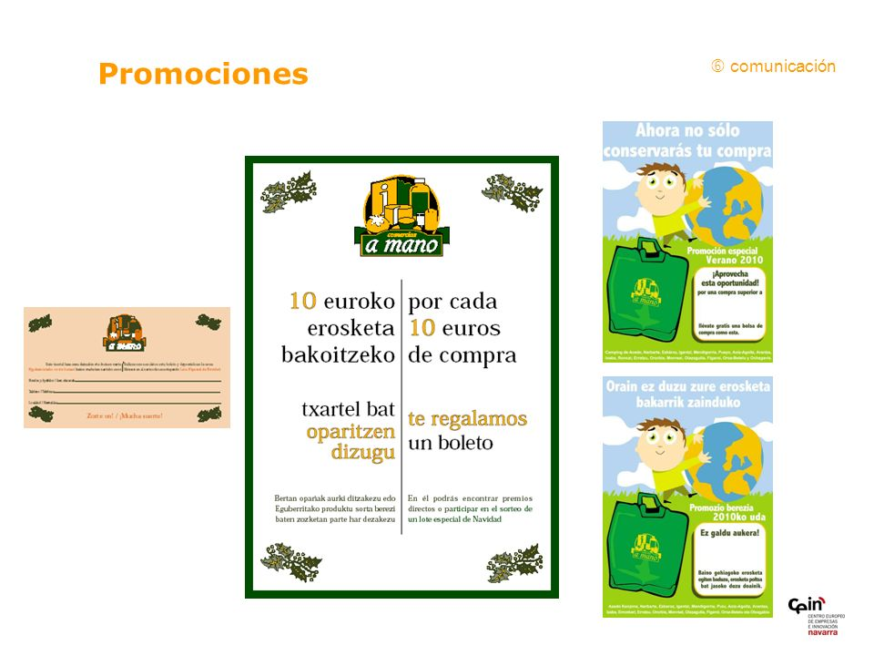 Promociones comunicación