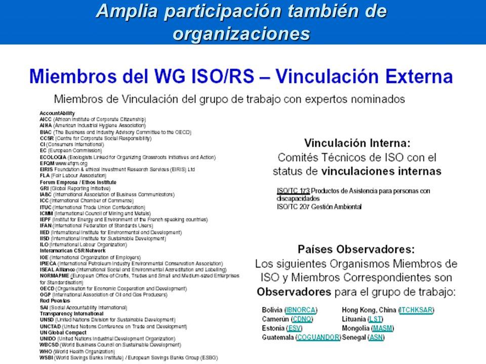 CARACTER DE LA GUIA ISO 26000 7.Guía y no norma 7.Guía y no norma No certificableNo certificable No sistema de gestiónNo sistema de gestión 8.