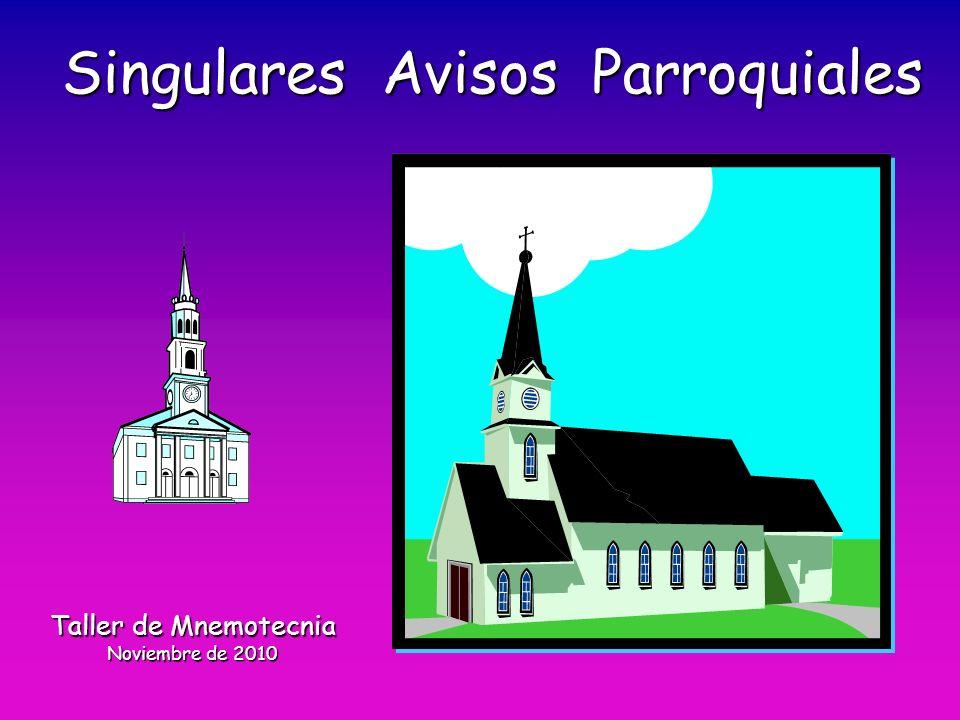 ÍndiceÍndice Información previa.1.Avisos parroquiales (14 en total) 2.
