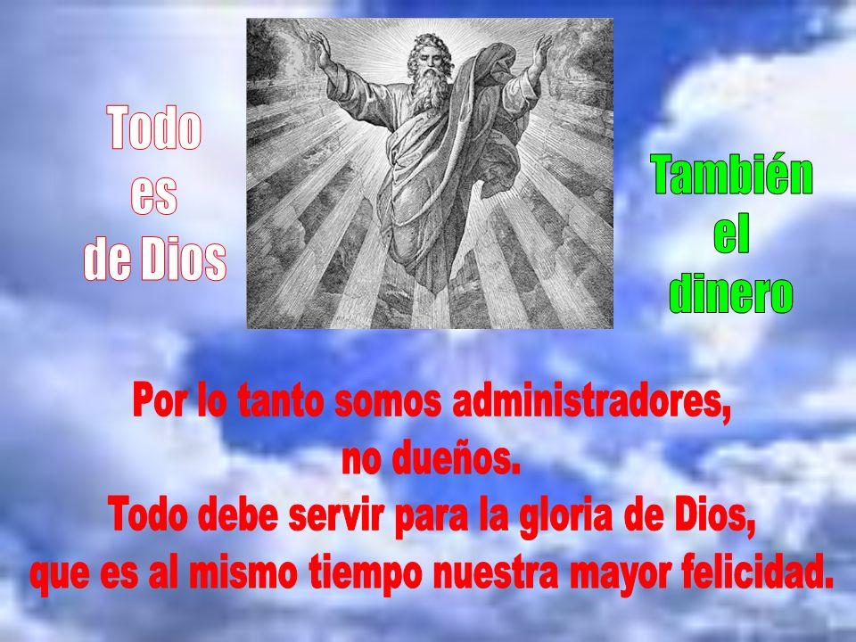 No es lo mismo servir a Dios que servirse de Dios. Esta postura es la de aquellos que buscan en la religión progresar materialmente. Por eso debemos p