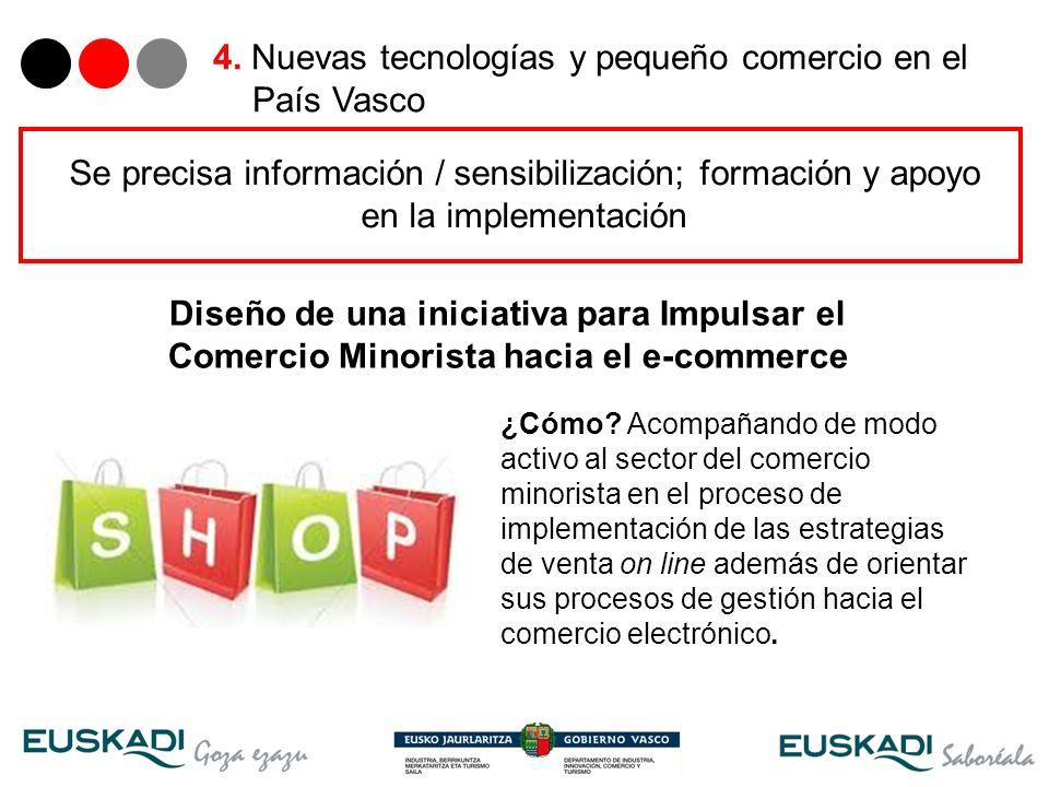 23 Diseño de una iniciativa para Impulsar el Comercio Minorista hacia el e-commerce ¿Cómo? Acompañando de modo activo al sector del comercio minorista