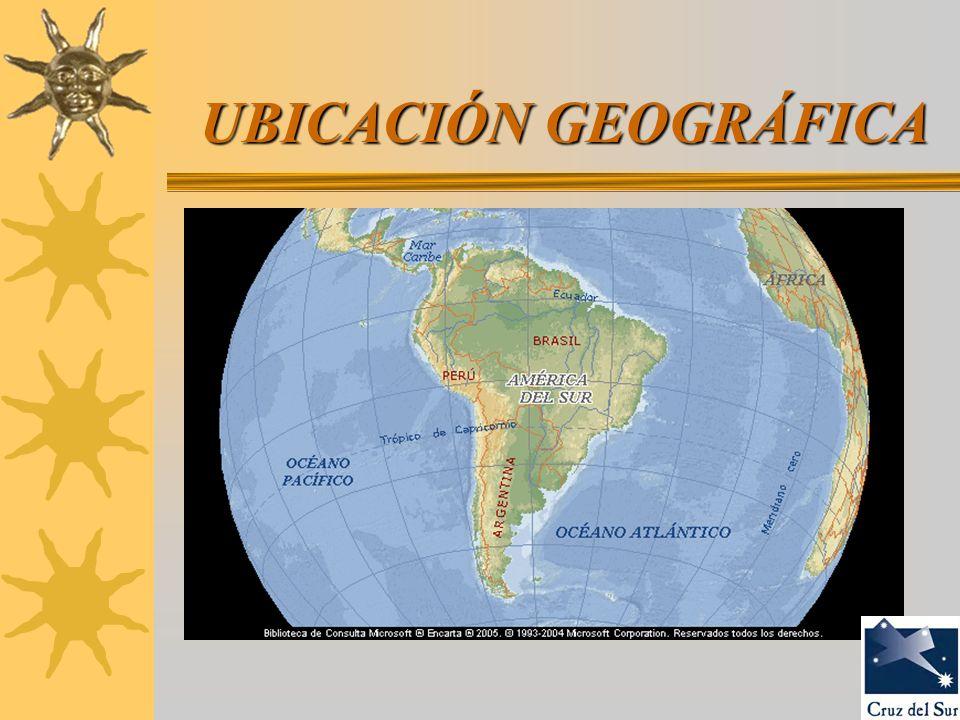 UBICACIÓN GEOGRÁFICA UBICACIÓN GEOGRÁFICA