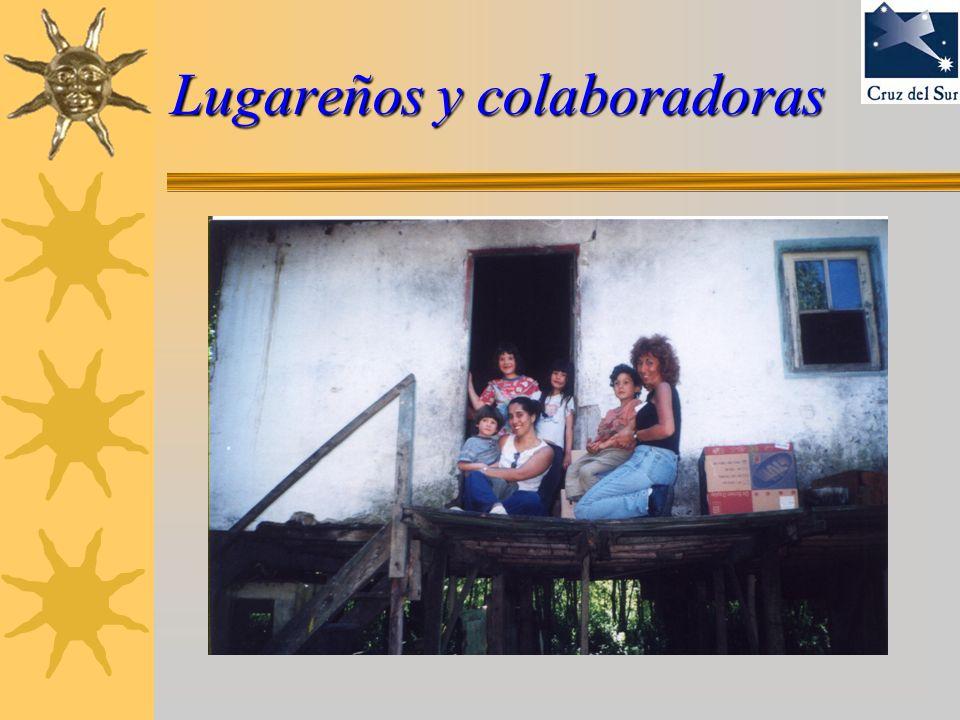 Lugareños y colaboradoras