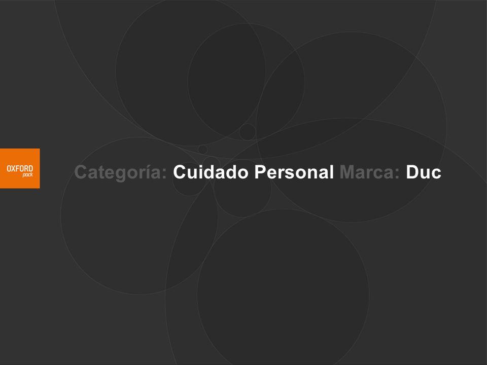 Categoría: Cuidado Personal Marca: Duc