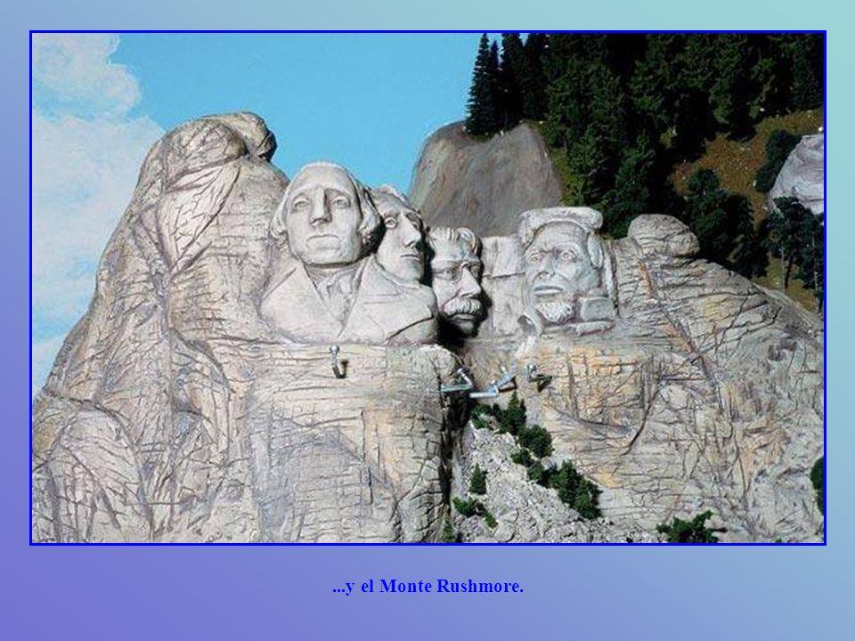 ...y el Monte Rushmore.