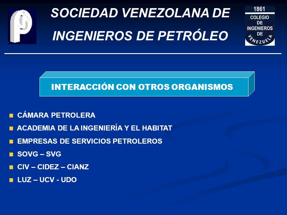 SOCIEDAD VENEZOLANA DE INGENIEROS DE PETRÓLEO FUNDACIÓN FONDO EDITORIAL JUAN JONES PARRA PROGRAMA DE CHARLAS BOLETIN GUANOCO. 20 BOLETINES BOLETIN NOT