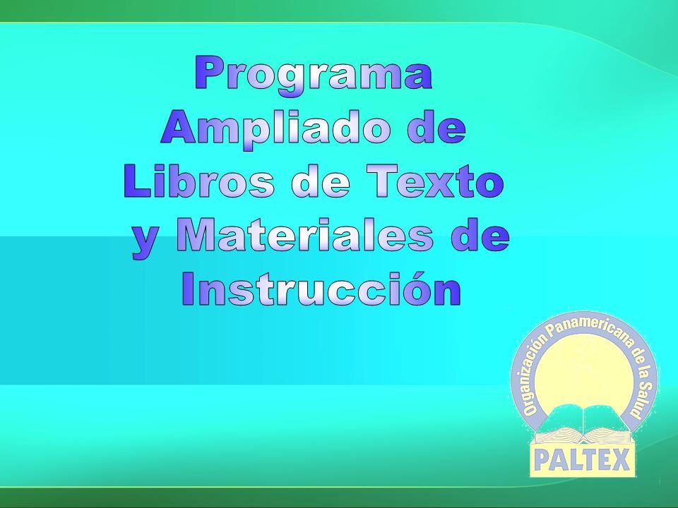Misión del PALTEX Contribuir en el desarrollo educativo para los recursos humanos para el fortalecimiento de la salud en la Región de las Américas, como parte de la cooperación técnica de la OPS.