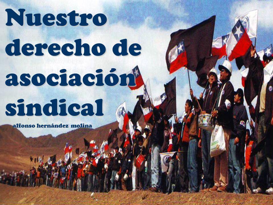 Nuestro derecho de asociación sindical alfonso hernández molina alfonso hernández molina
