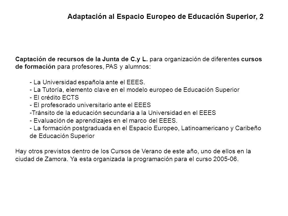 Se ha participado en Madrid en la Comisión de Elaboración del Suplemento Europeo al Título.