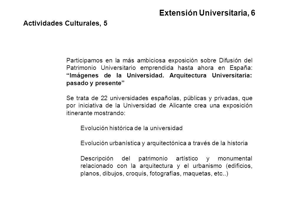 Participamos en la más ambiciosa exposición sobre Difusión del Patrimonio Universitario emprendida hasta ahora en España: Imágenes de la Universidad.