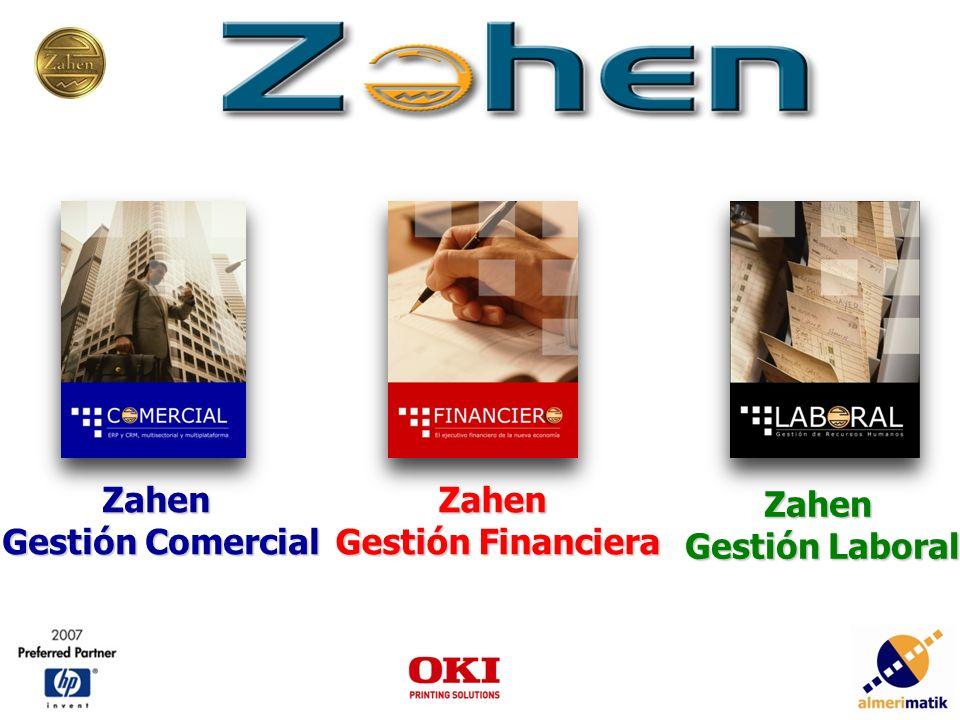 Zahen Gestión Comercial Zahen Gestión Financiera Zahen Gestión Laboral