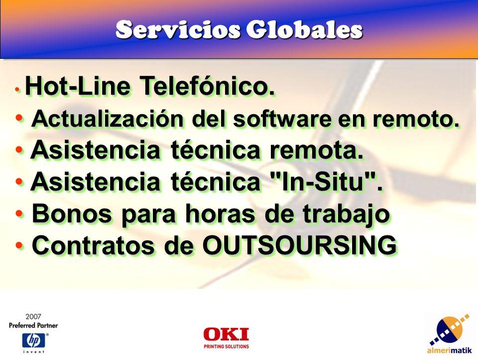 Servicios Globales Hot-Line Telefónico. Hot-Line Telefónico.