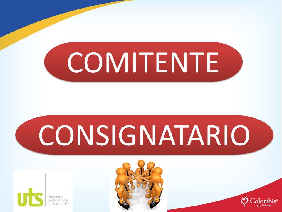 COMITENTE CONSIGNATARIO