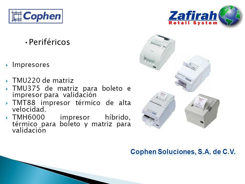 Impresores TMU220 de matriz TMU375 de matriz para boleto e impresor para validación TMT88 impresor térmico de alta velocidad. TMH6000 impresor híbrido
