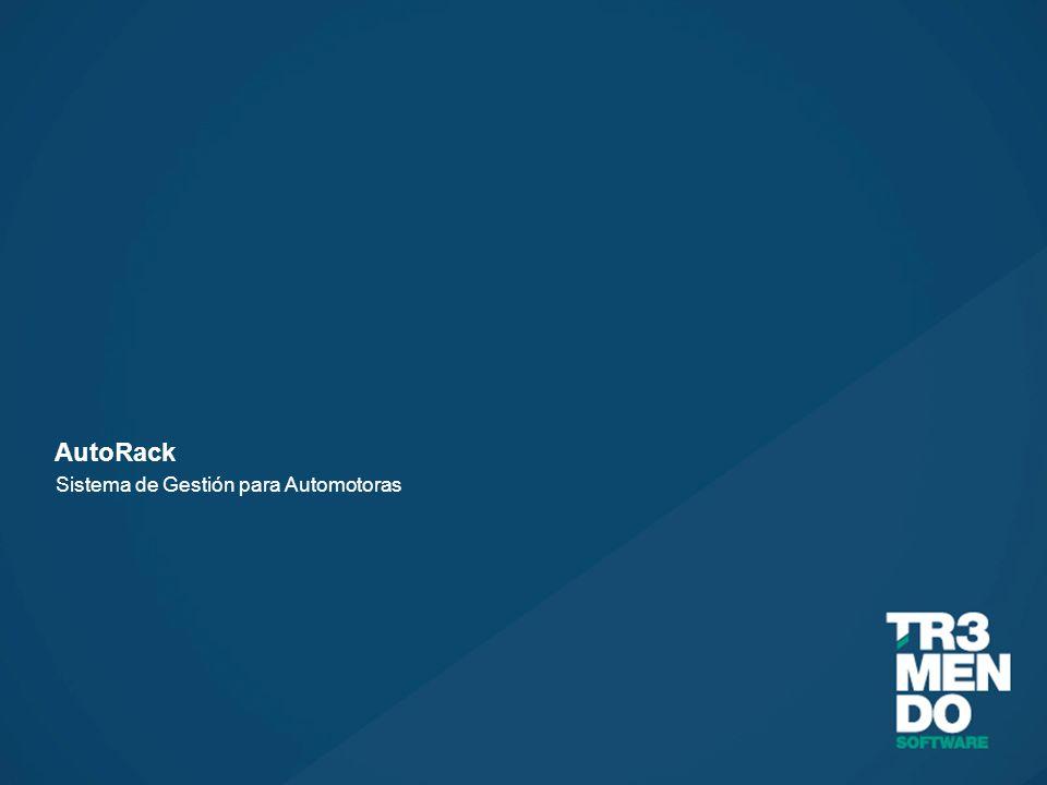 AutoRack Sistema de Gestión para Automotoras