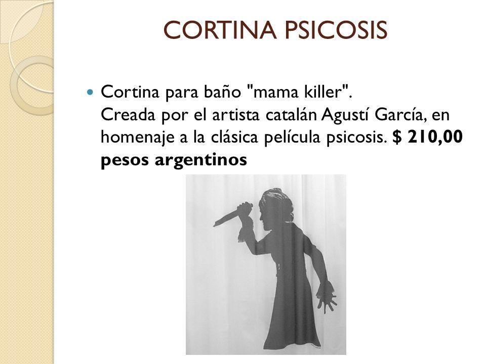 CORTINA PSICOSIS Cortina para baño