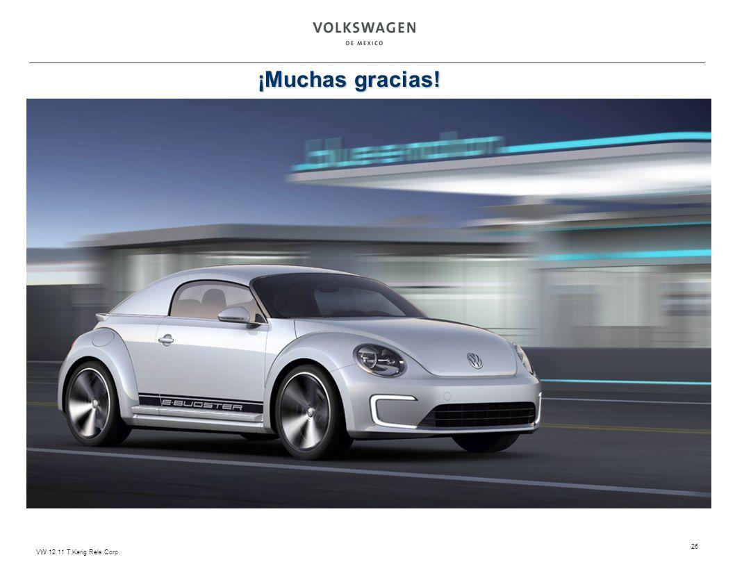 VW 12.11 T.Karig Rels.Corp. 26 ¡Muchas gracias!
