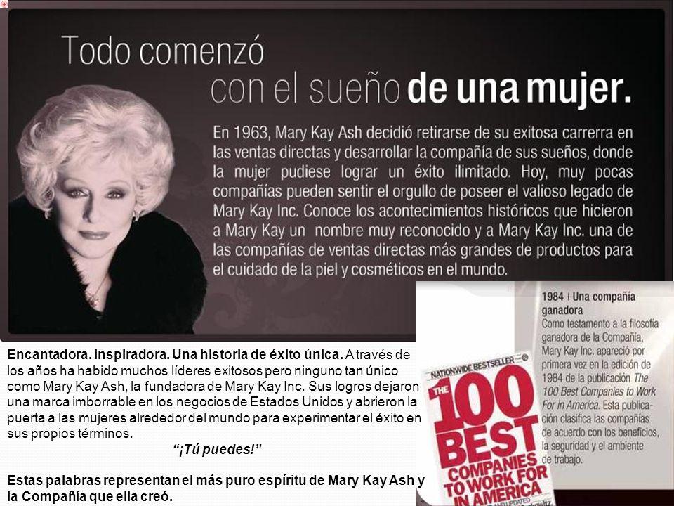 Encantadora. Inspiradora. Una historia de éxito única. A través de los años ha habido muchos líderes exitosos pero ninguno tan único como Mary Kay Ash