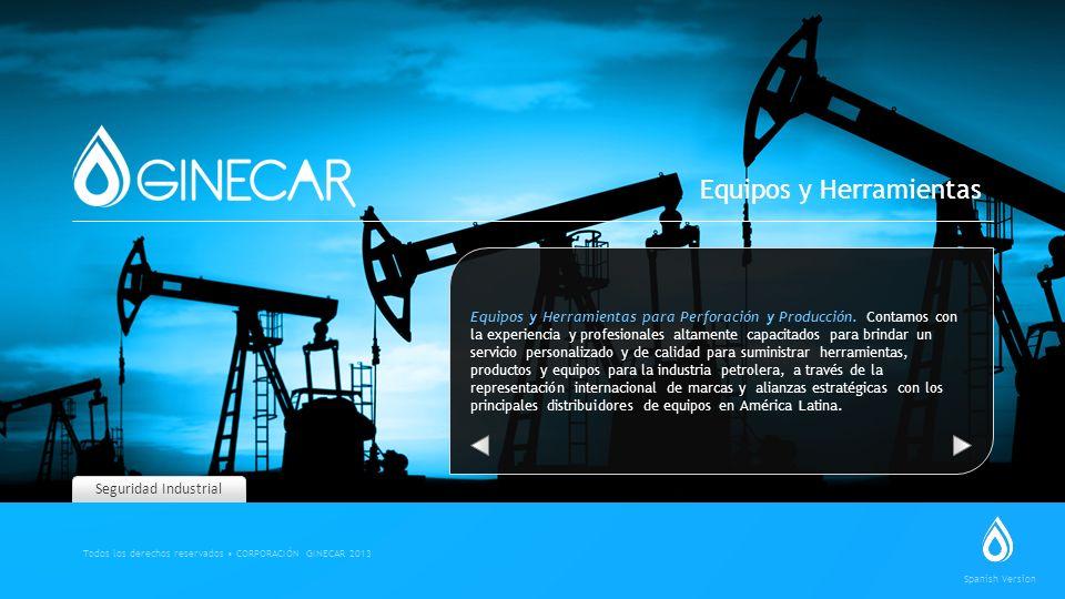 Seguridad Industrial Equipos y Herramientas para Perforación y Producción. Contamos con la experiencia y profesionales altamente capacitados para brin