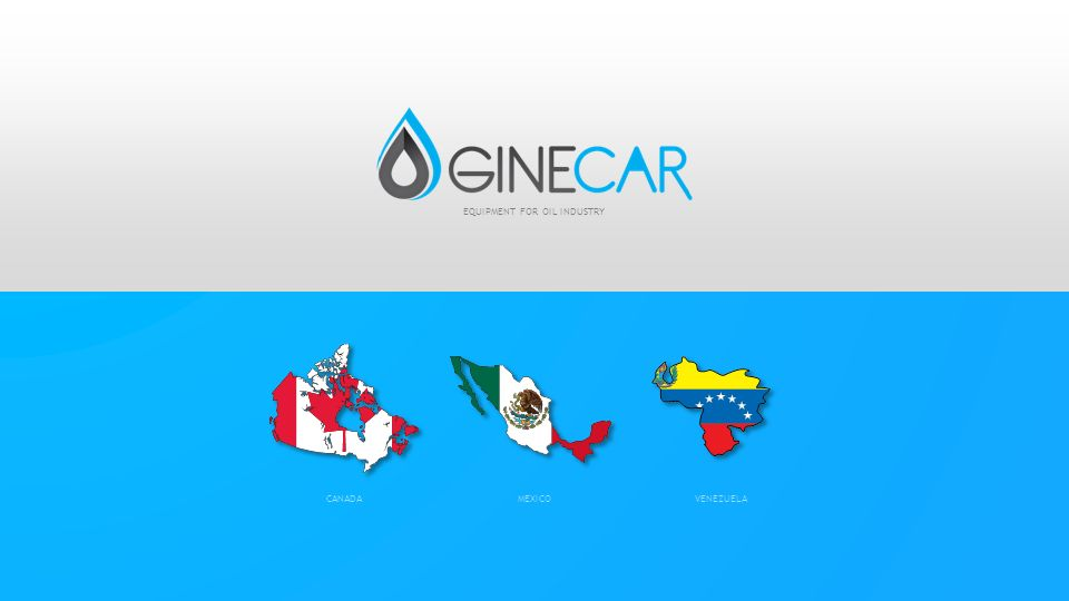 MEXICOCANADAVENEZUELA EQUIPMENT FOR OIL INDUSTRY
