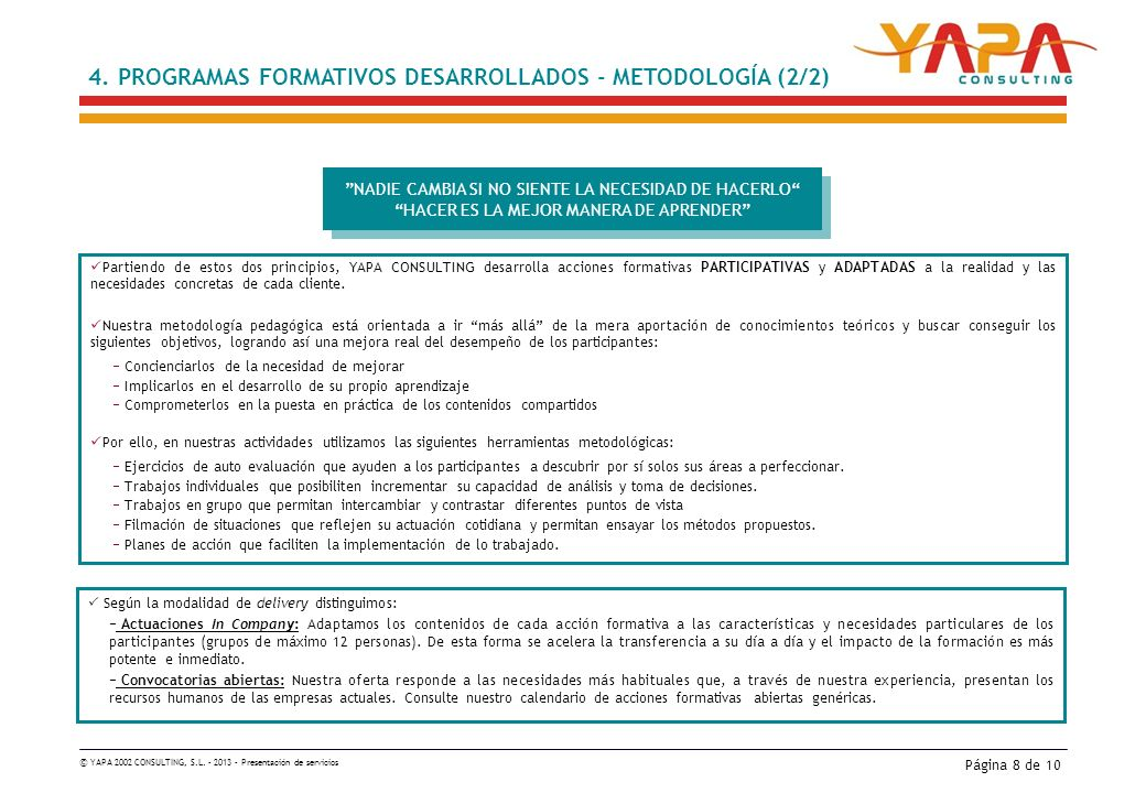 © YAPA 2002 CONSULTING, S.L.